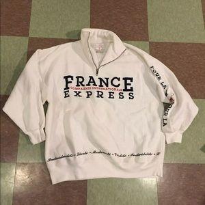 Vintage express 1/2 zip sweatshirt